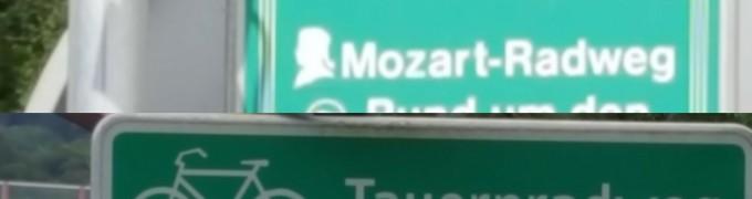 Mozart- und Tauernradwek zum Kaiserhof