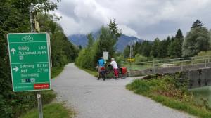 Tauernradweg Richtung Kaiserhof